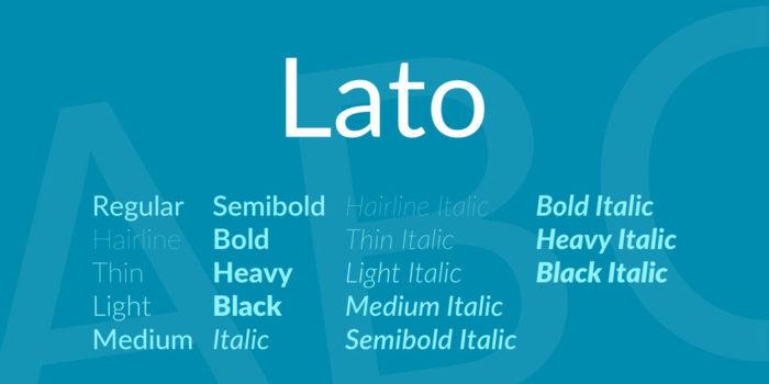 lato-font-700x350 Google font pairings: Font combinations that look good