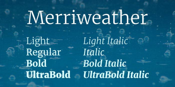 merriweather-font-1-big-700x350 Google font pairings: Font combinations that look good