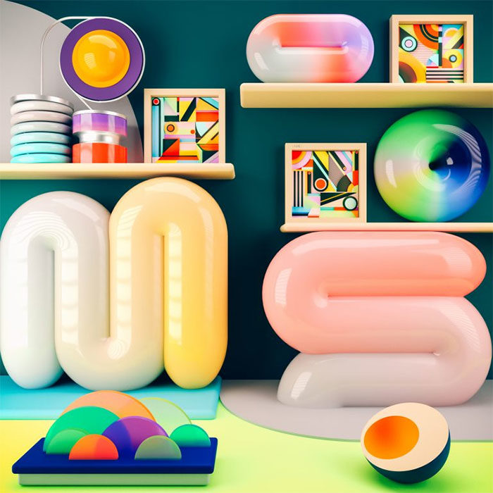 multicolor-700x700 Graphic design trends 2019: What will be predominant this year