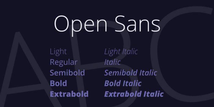 open-sans-font-5-big-700x350 Google font pairings: Font combinations that look good