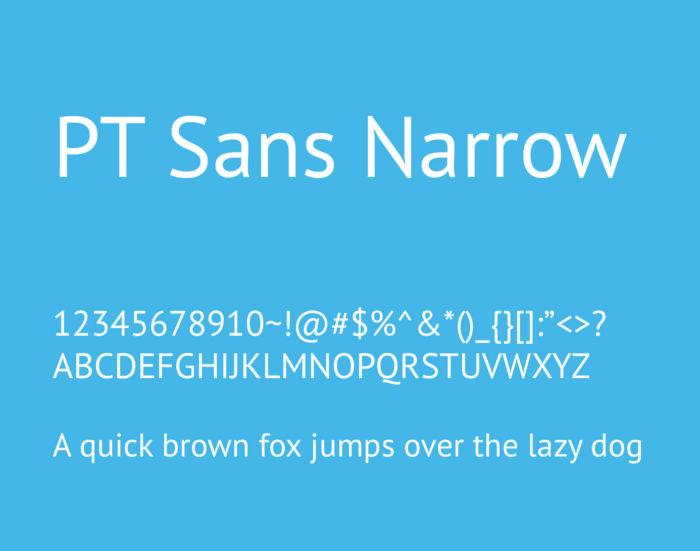 pt-sans-narrow-font-700x551 Google font pairings: Font combinations that look good