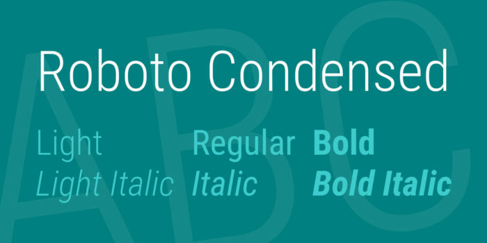 roboto-condensed-font-700x350 Google font pairings: Font combinations that look good