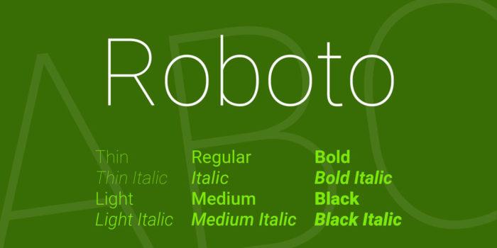 roboto-font-700x350 Google font pairings: Font combinations that look good