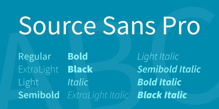 source-sans-pro-font-700x350 Google font pairings: Font combinations that look good