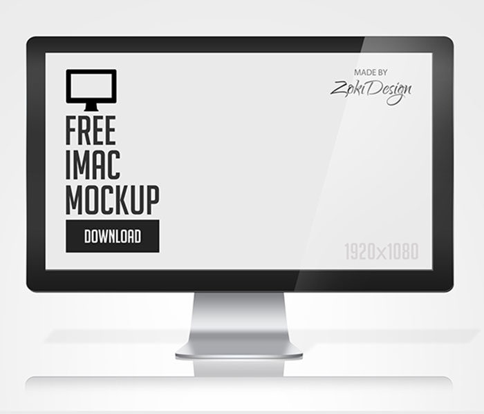 2682d112704723.5626bef272654-700x600 iMac Mockup Collection: Free and Premium Computer Mockups (PSD)