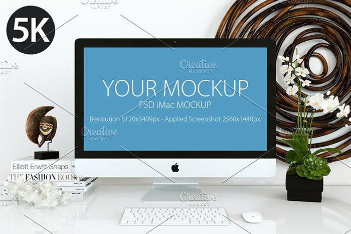 5k-mockup-700x466 iMac Mockup Collection: Free and Premium Computer Mockups (PSD)