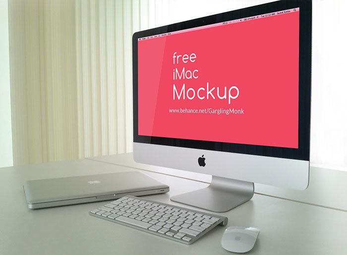 786c8521754241.563080f56f4f8-700x515 iMac Mockup Collection: Free and Premium Computer Mockups (PSD)