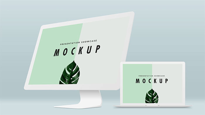 Mac-Display-Mockup-978x550-700x394 iMac Mockup Collection: Free and Premium Computer Mockups (PSD)