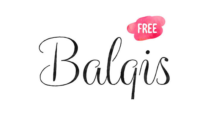 balqis-700x409 Free Cute Fonts to Use in Your Thematic Designs