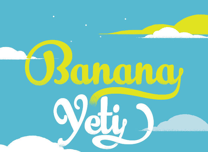 banana-700x511 Free Cute Fonts to Use in Your Thematic Designs