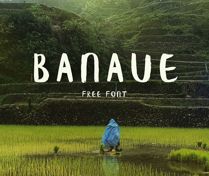 banaue-700x589 Free Cute Fonts to Use in Your Thematic Designs