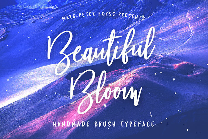 bloom-700x466 Free Cute Fonts to Use in Your Thematic Designs