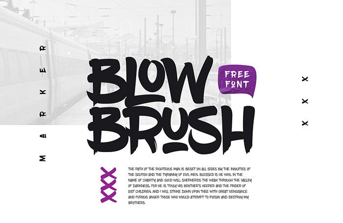blowbrush-700x456 Free Cute Fonts to Use in Your Thematic Designs