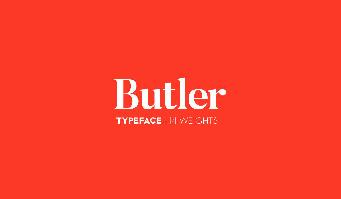 butler-700x408 Free Cute Fonts to Use in Your Thematic Designs