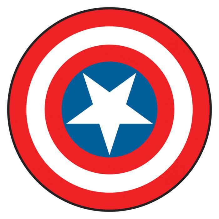 captain-america-shield-clipart-1-700x700 Superhero logos:The symbols of the comic book universe