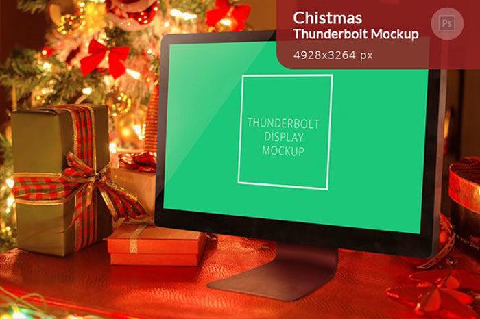 christmas-700x466 iMac Mockup Collection: Free and Premium Computer Mockups (PSD)