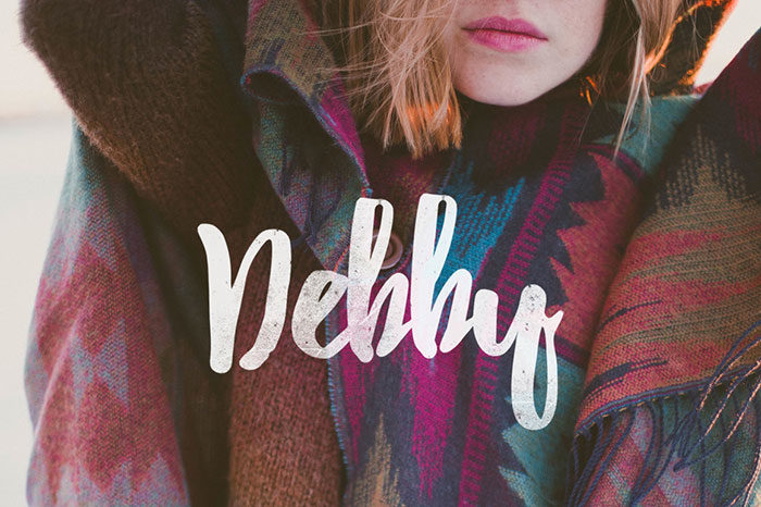 debby-700x466 Free Cute Fonts to Use in Your Thematic Designs