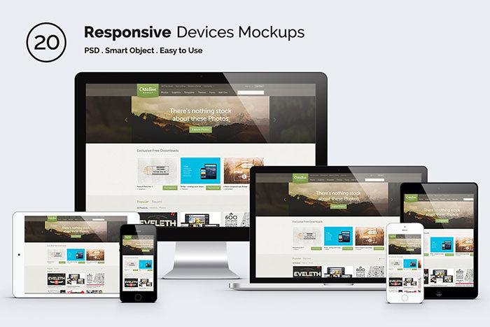 device_mock-up_2--700x467 iMac Mockup Collection: Free and Premium Computer Mockups (PSD)