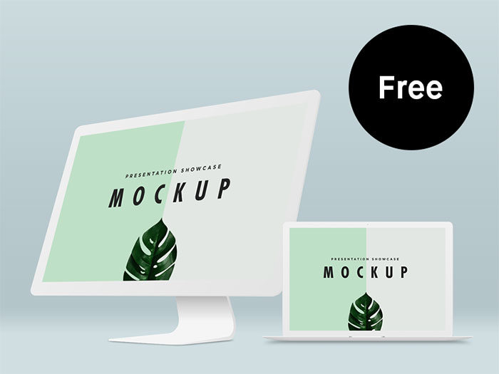 freemock-700x525 iMac Mockup Collection: Free and Premium Computer Mockups (PSD)