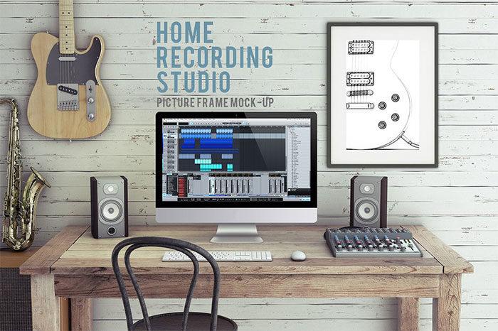 homerecors-700x466 iMac Mockup Collection: Free and Premium Computer Mockups (PSD)