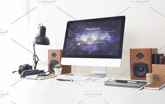 horizon-700x439 iMac Mockup Collection: Free and Premium Computer Mockups (PSD)