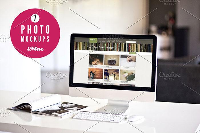 im-700x467 iMac Mockup Collection: Free and Premium Computer Mockups (PSD)