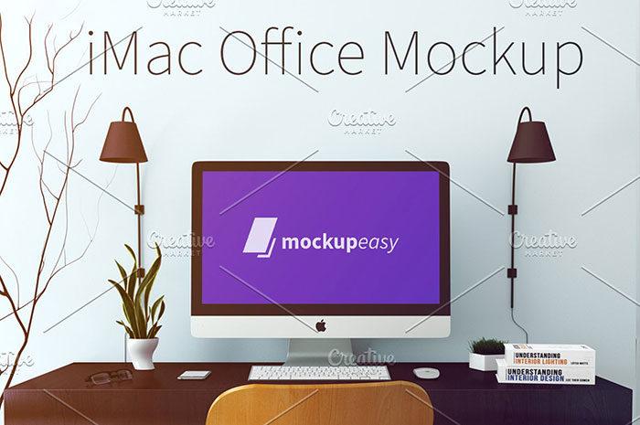 imac-office-1-cmtk--700x465 iMac Mockup Collection: Free and Premium Computer Mockups (PSD)