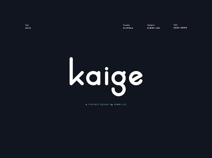 kaige-700x522 Free Cute Fonts to Use in Your Thematic Designs