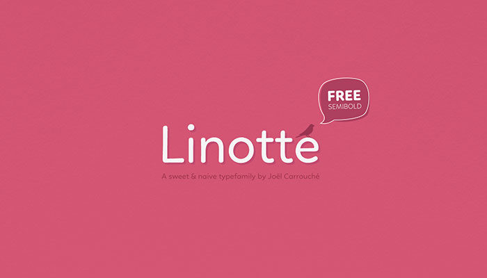 linotte-700x400 Free Cute Fonts to Use in Your Thematic Designs