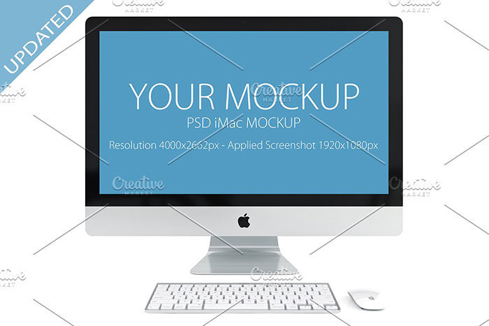 mockup--700x466 iMac Mockup Collection: Free and Premium Computer Mockups (PSD)