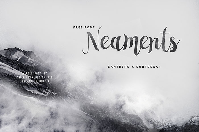 neamets-700x466 Free Cute Fonts to Use in Your Thematic Designs