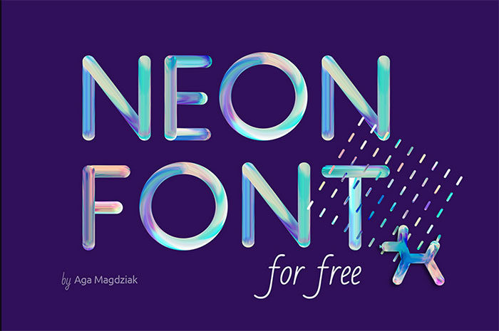neonfont-700x465 Free Cute Fonts to Use in Your Thematic Designs