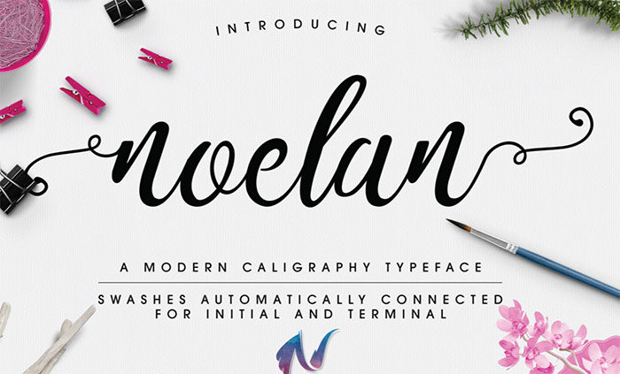 noelan-700x423 Free Cute Fonts to Use in Your Thematic Designs