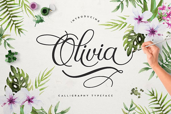 olivia-700x467 Free Cute Fonts to Use in Your Thematic Designs