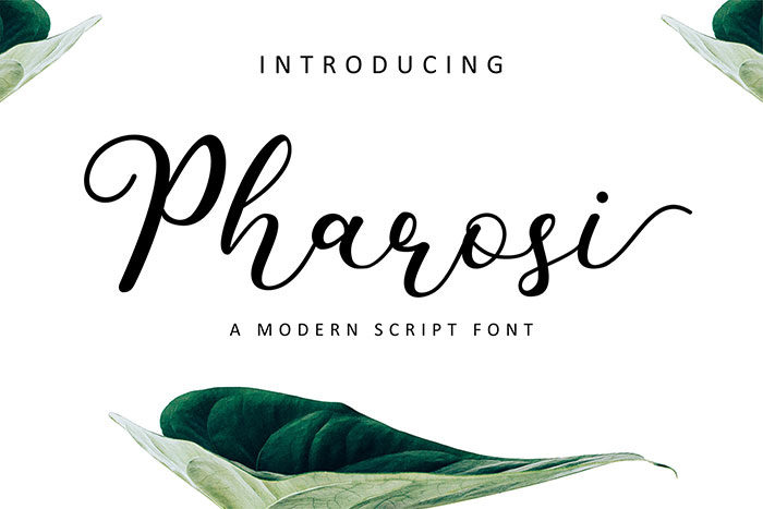 pharosi-700x467 Free Cute Fonts to Use in Your Thematic Designs