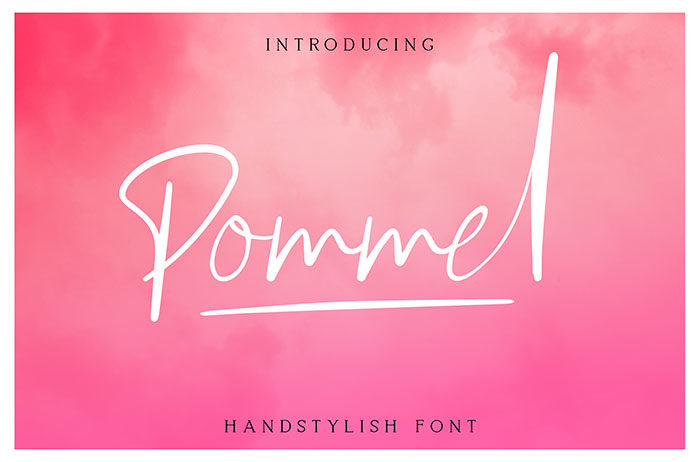 pommel-700x462 Free Cute Fonts to Use in Your Thematic Designs