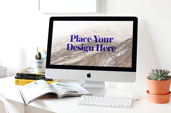 qualty-700x466 iMac Mockup Collection: Free and Premium Computer Mockups (PSD)