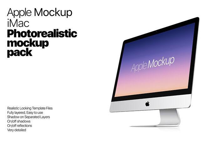 realistic-700x451 iMac Mockup Collection: Free and Premium Computer Mockups (PSD)