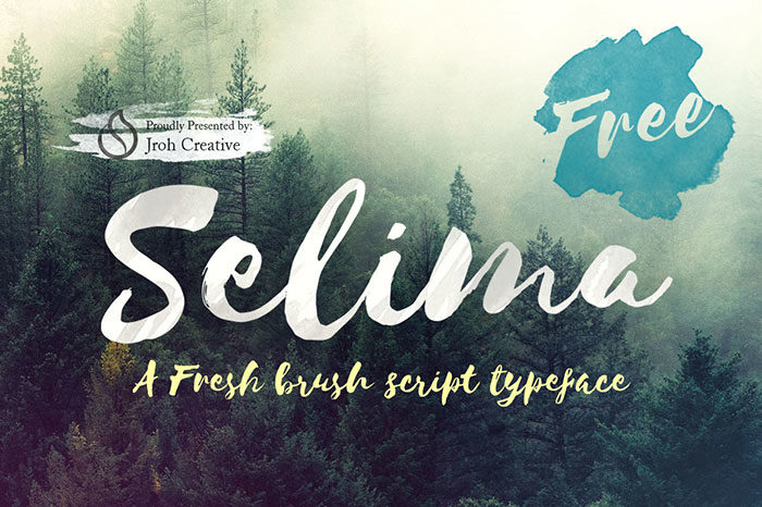 selima-700x466 Free Cute Fonts to Use in Your Thematic Designs