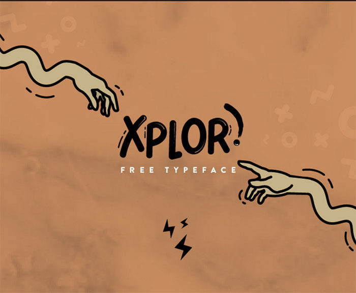 xplor-700x576 Free Cute Fonts to Use in Your Thematic Designs
