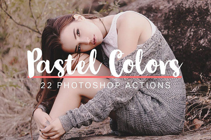 22-Soft-Pastel-Photoshop-Actions-700x466 Photoshop actions for portraits that you can download now