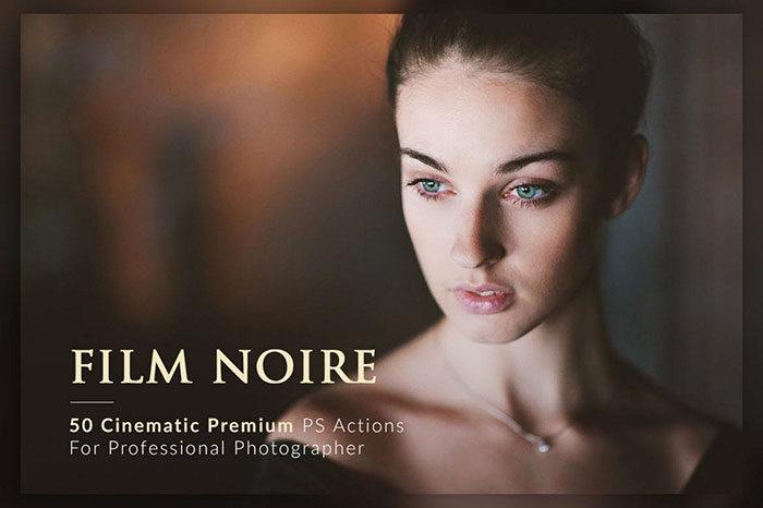 50-Film-Noire-PS-Actions-Bundle-700x466 Photoshop actions for portraits that you can download now