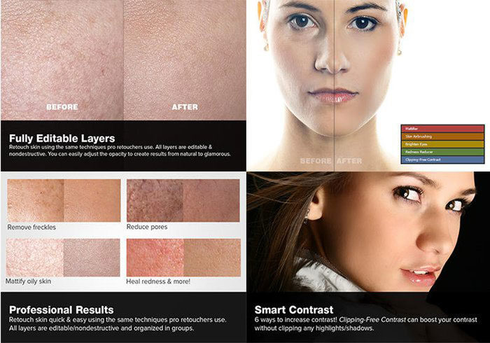 5skin-retouching-700x490 Photoshop actions for portraits that you can download now