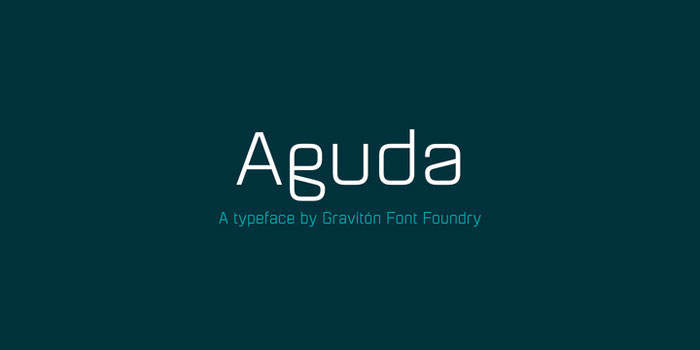 Aguda Download these futuristic fonts and create awesome typography designs