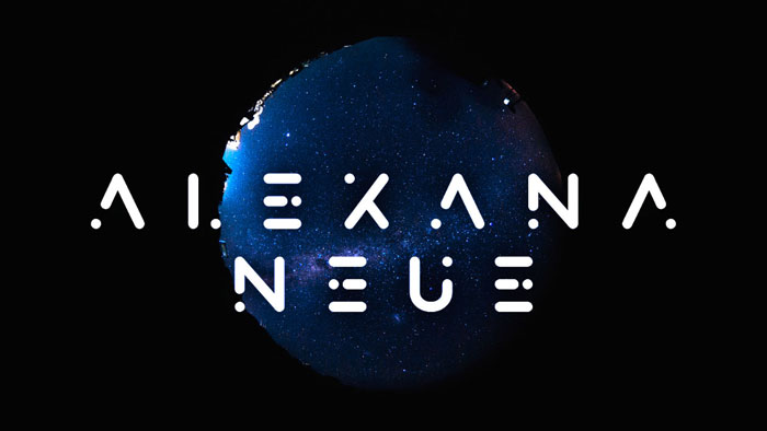 Alexana Download these futuristic fonts and create awesome typography designs