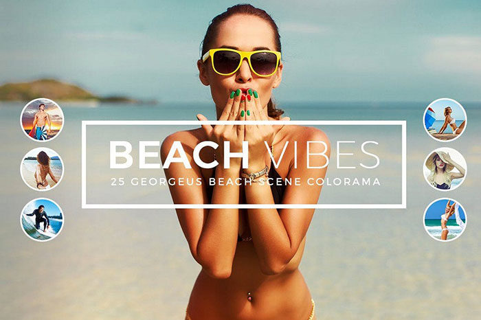 Beach-Vibes-Photoshop-Actions-700x466 Photoshop actions for portraits that you can download now
