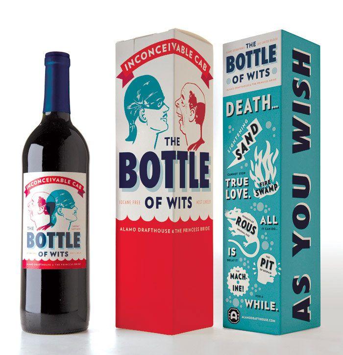 Bottle-of-Wits Wine logo design: How to create stylish wine logos