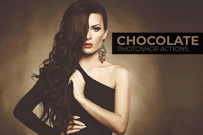 Chocolate-Portrait-Photoshop-Actions-700x466 Photoshop actions for portraits that you can download now