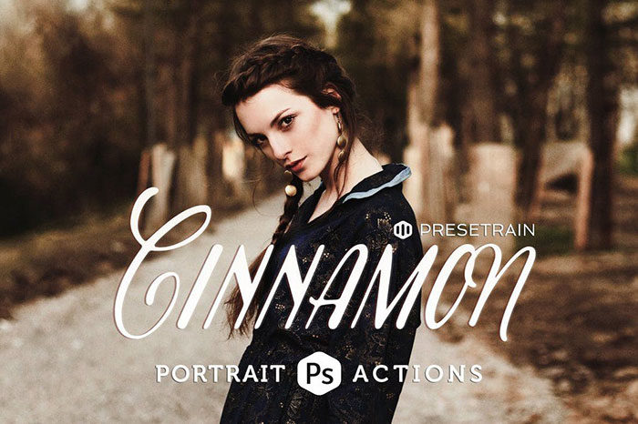 Cinnamon-Portrait-Actions-700x466 Photoshop actions for portraits that you can download now