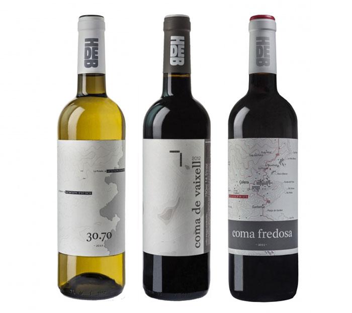 Coma-Fredosa Wine logo design: How to create stylish wine logos